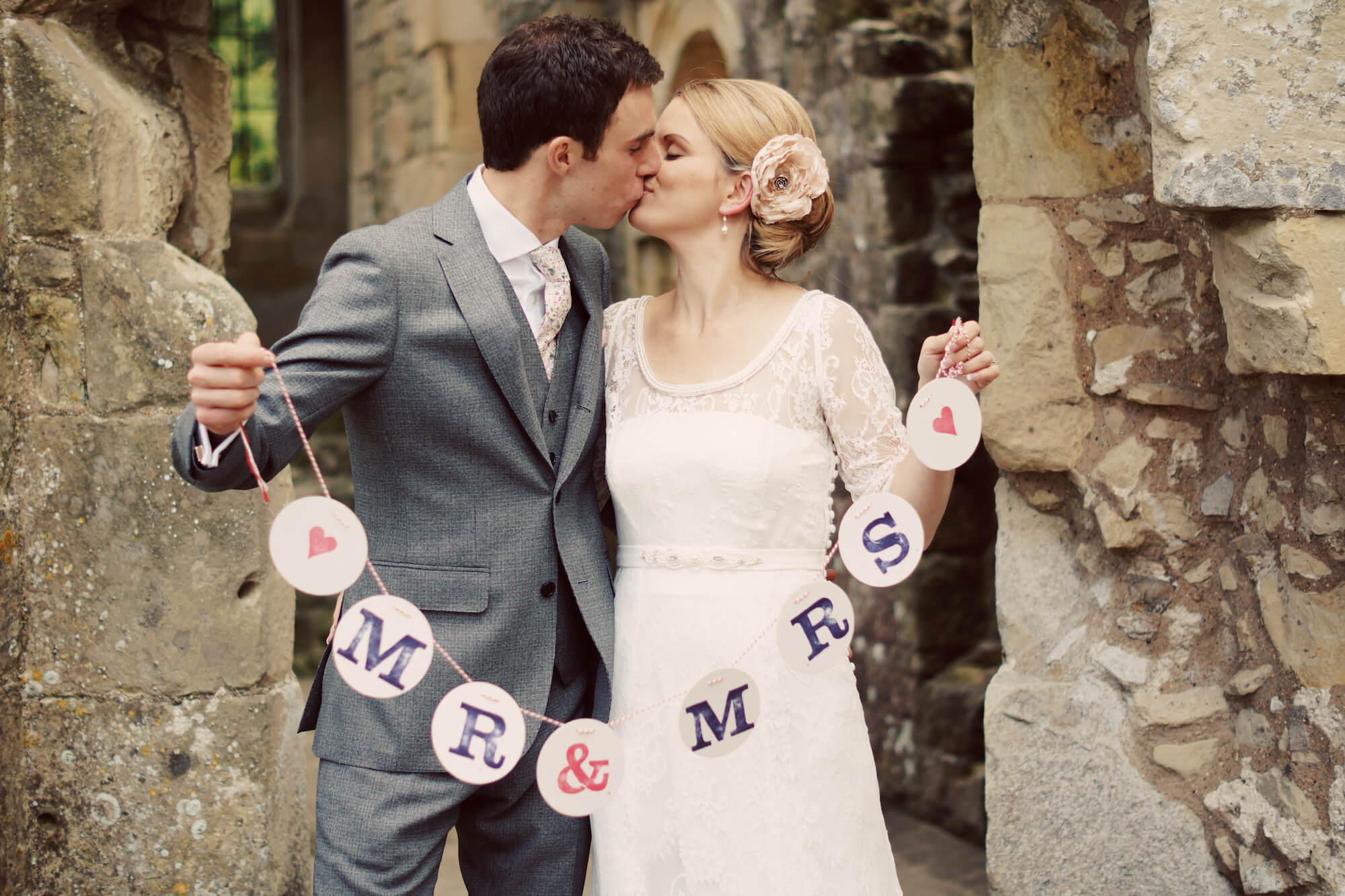 Mr and Mrs Wedding couple