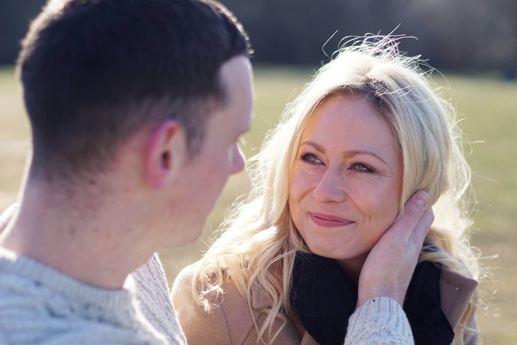 Wiltshire Engagement Shoot at Heavens Gate