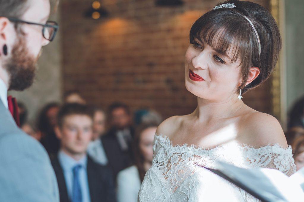 Ceremony at Wiltshire Wedding
