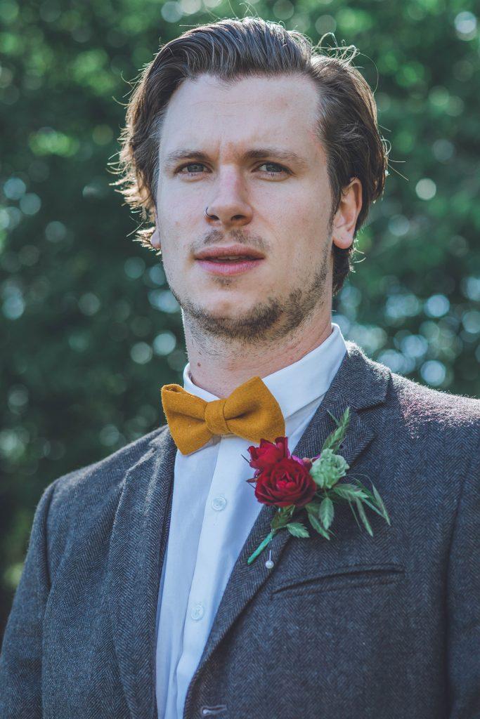 Woodland Wedding Buttonhole