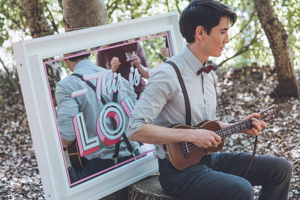 Josh Lee Ukulele wedding music